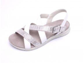 IMAC dámské sandály 508570 bílé/šedé