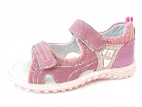 Befado dětské sandály B011-32 růžové