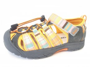 Bugga dětské sandály B093-17 oranžové