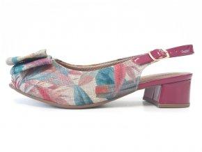 Piccadilly sandály 114 022-12 barevné/fialové