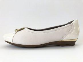 Piccadilly baleríny 147 144-5 bílé