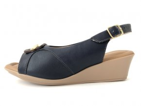 Piccadilly sandály 153 043-3 modré