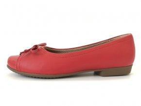 Piccadilly baleríny 251 062-3 červené