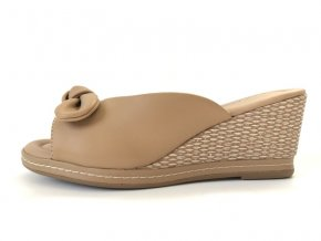 Piccadilly pantofle 408148-3 hnědé