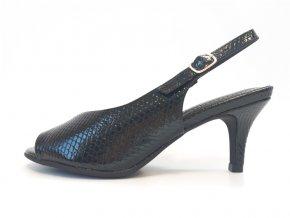 Piccadilly sandálky 757 002-5 černé