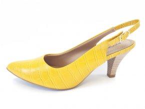 Piccadilly lodičky 745 063-17 žluté