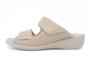 Piccadilly pantofle 416 073-5 béžové