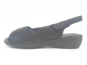 Piccadilly sandály 416 076-1 černé