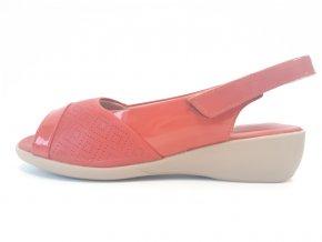 Piccadilly sandály 416 076-4 červené