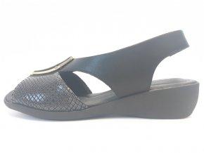 Piccadilly sandály 416 077-1 černé