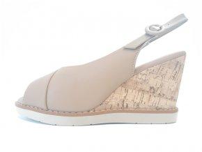 Piccadilly sandály 428 009-5 hnědé