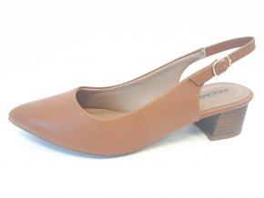 Piccadilly sandály 738 001-20 hnědé