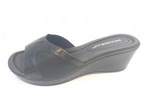 Piccadilly pantofle 540 262-8 černé