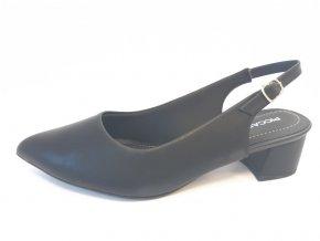 Piccadilly sandály 738 001-7 černé
