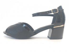 Piccadilly sandály 542088-1 černá