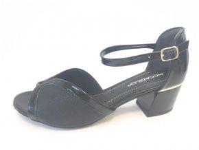 Piccadilly sandály 542 088-1 černá