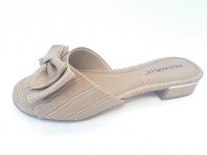 Piccadilly pantofle 558 007-27 hnědé