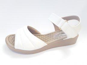 Piccadilly sandály 561 021-14 bílé