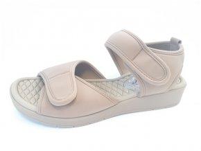 Piccadilly sandály 561 025-12 hnědé