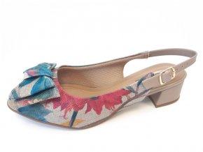 Piccadilly sandály 114 022-13 barevné/béžové
