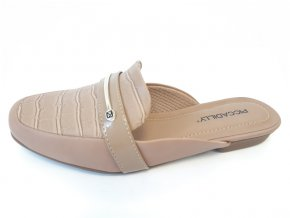 Piccadilly pantofle 251 058-4 hnědé