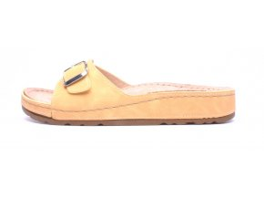 Mediline dámské pantofle S182.010 žluté
