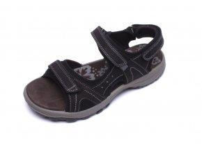 IMAC dámské sportovní sandály 309630 černé
