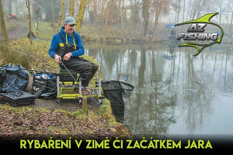Jak na rybaření vzimě či začátkem jara aneb Nástrahy čisté a chladné vody