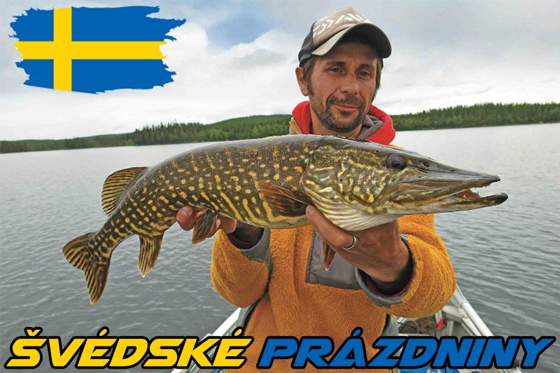 Švédské prázdniny: Na lov přirozených ryb v jejich přirozeném prostředí