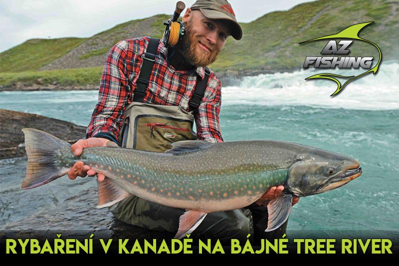 Reportáž: Rybaření vKanadě na bájné Tree River je zážitek na celý život