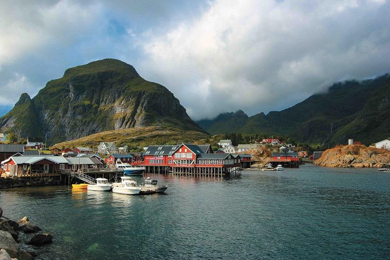 Ubytování pro rybaření v Norsku - Lofoty