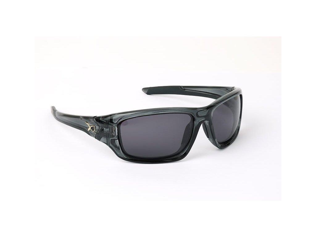 13898 matrix polarizacni bryle wraps trans black grey lense