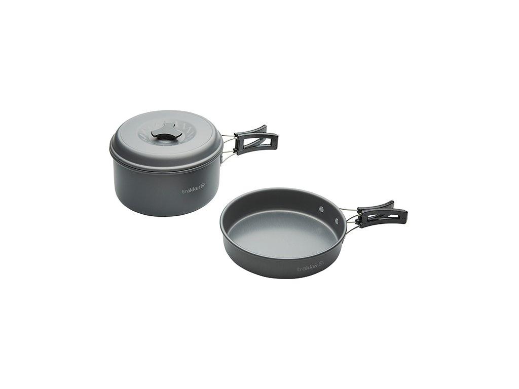 Trakker  Sada Nádobí 2 ks - Armolife 2 Piece Cookware Set