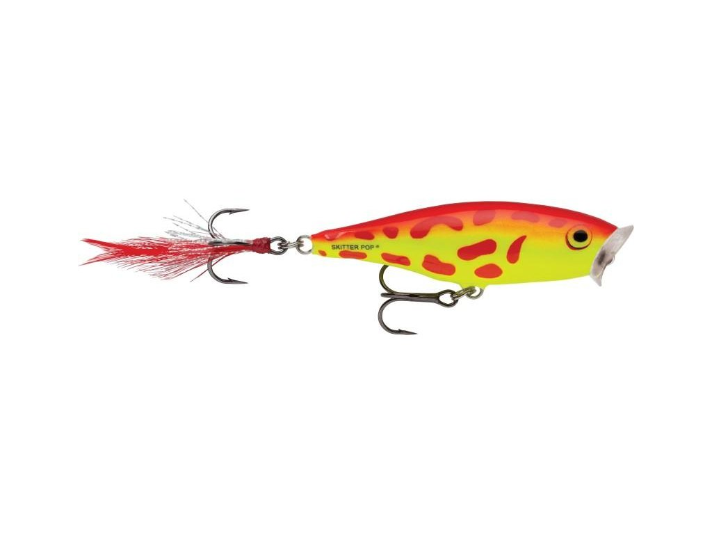 Rapala Wobler Skitter Pop Top Water Fresh 7 cm