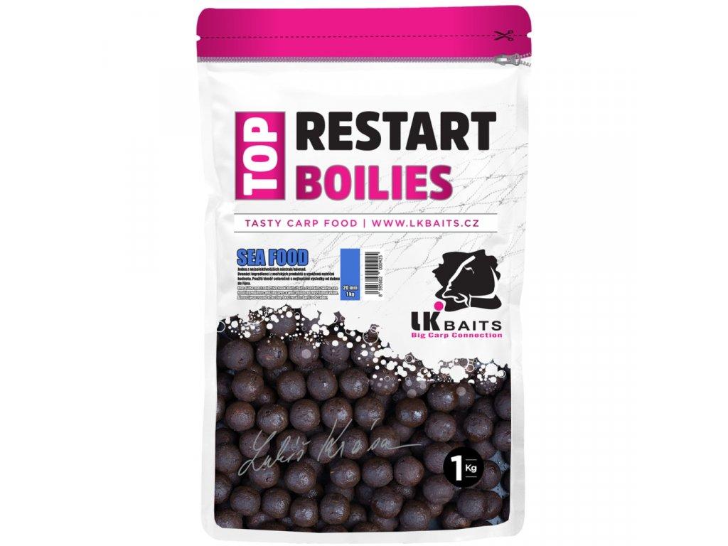 LK Baits Boilies Top ReStart - Sea Food