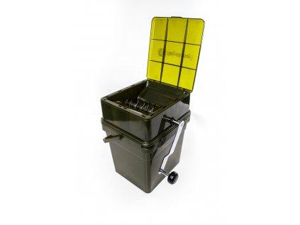 7847 8 ridgemonkey drticka advanced boilie crusher 17 l modular bucket