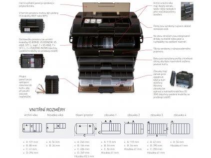 Versus Box VS 8050 černý