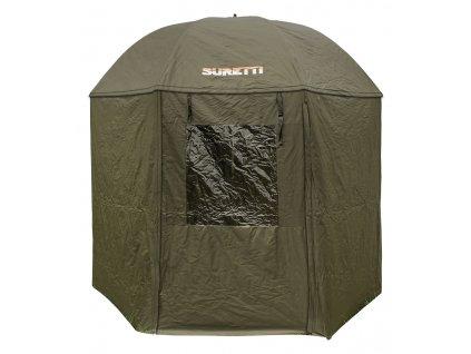 Suretti Deštník S bočnicí Full Cover  210D