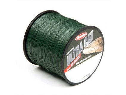 Berkley Ultra Cat Mechově zelená Dyneema 0.50mm 1000m