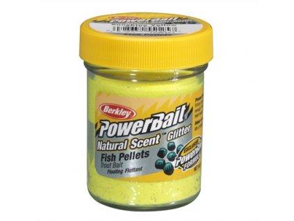 Berkley Naturel Scent Trout Bait Shunshine Yellow Pstruží těsto