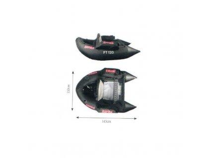 rapala belly boat ft 120 ra7818003