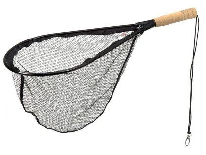 DAM Raketový Podběrák s Korkovou rukojetí a Pogumovanou síťkou
