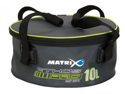 13865 matrix michacka na krmeni ethos pro eva groundbaits with lid handles 10l