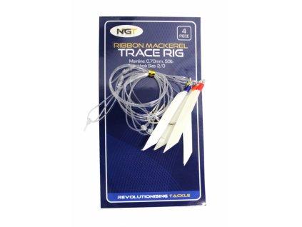 NGT Mořský Návazec Ribbon Mackerel Trace Rig 4