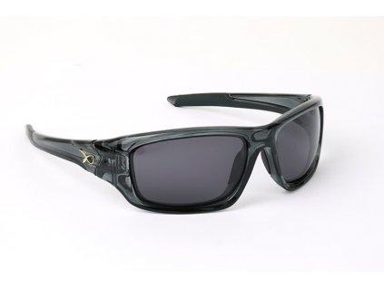 13904 matrix polarizacni bryle casual trans black grey lense