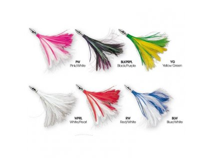 williamson flash feather rigged 127 mm