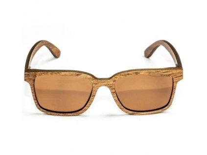 Nash Brýle Timber Sunglasses Amber