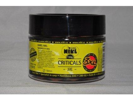 16301 1 nikl boilie criticals 3xl 150g