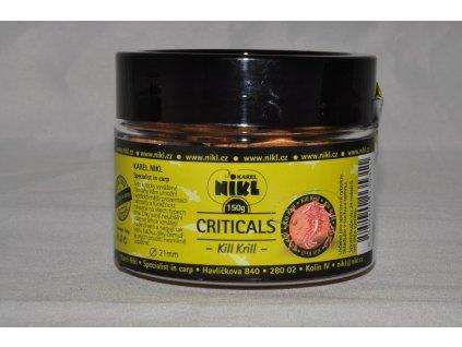 16313 2 nikl boilie criticals kill krill 150g