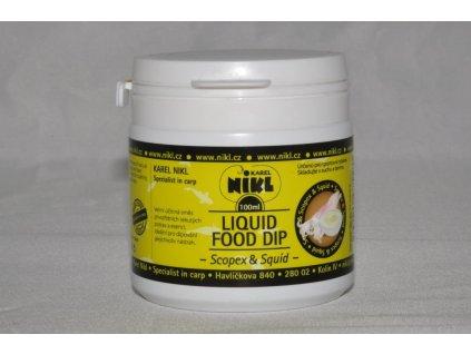 16913 2 nikl dip liquid food scopex squid 100ml